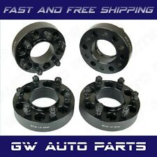 """4 PC 1.5"""" BLACK HUB CENTRIC WHEEL SPACER 6X135 CB 87.1mm 14X2.0 FIT FORD LINCOLN"""