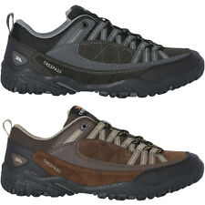 Trespass Mens Taiga Suede Outdoor Walking Hiking Shoes - Heath - 13 US