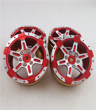 Hercules Rock Crawler Parts 1.9 inch Emulation Wheel B for 1/10 RC Cars Red