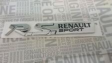 LOGO RENAULT SPORT RS EMBLEM SPORT CLIO 4 MEGANE 4, TWINGO 3 NEU/OVP ORIGINAL