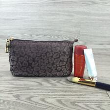 1x ESTEE LAUDER Black Animal Print Makeup Cosmetics Bag, Brand NEW!!