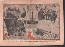 Aeronautica Militare BOURGET CHATEAU HARCOURT EURE    ILLUSTRATION 1934