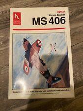 HOBBY CRAFT MORANE-SAULNIER MS406 AIRPLANE 1/48 SCALE PLASTIC MODEL KIT
