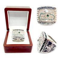 2013 Seattle Seahawks Championship Ring #WILSON Super Bowl Champions Size 8-13