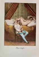 Akt Sex Vagina Penis Erotik Petting Cum Adultery Romance Nude Grafik Antik