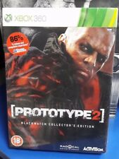 Prototype 2 Blackwatch Collector''s Edition PAL Xbox 360 New / Sealed