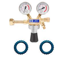 Druckminderer für Sauerstoff + 2 Schutzkappen GRATIS Druckregler O2 Armatur  ACE