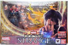 "Doctor Strange & Burning Flame Set Action Figure 6"" Bandai S.H.Figuarts"