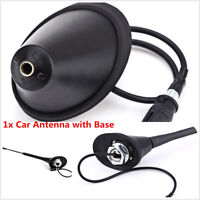 Car Roof Radio FM Antenna Amplifier Booster w/Base For Toyota Nissan BMW