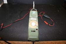 VINTAGE 1967 NORTHERN TELECOM LINEMAN ROTARY PHONE TESTER HANDSET RCA ALASKA COM