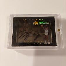Michael Jordan auto 2011-12 UD Exquisite Dimensions Shadowbox autograph Bulls