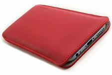 iPhone 7 6 S (Plus) étui de téléphone portable en cuir coque rouge Sac