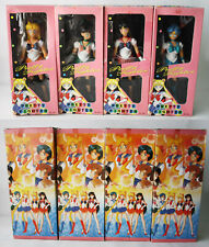 4X VINTAGE 90'S SAILOR MOON RUBBER KO DOLLS MERCURY MARS JUPITER VENUS NEW !