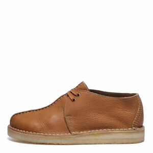 Clarks Originals Desert Trek Shoes - Light Tan