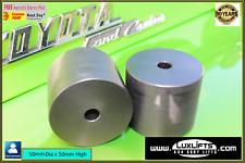 Body Lift Block x2 HDPE 50mm x 50mm Diameter Hilux Landcruiser Ranger LUXLIFTS