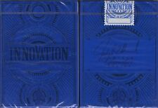 Innovation Blue Signature Playing Cards Poker Size Deck LPCC Custom Limited New