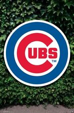 Chicago Cubs Poster 22 x 34 Logo In The Ivy