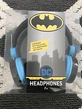 Sakar DC Comics  Batman Kids Headphones, Over The Ear, Bat Man And Robin