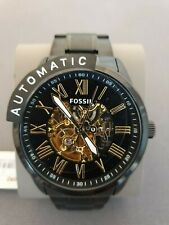 Fossil Men's Flynn Watch - Black and Gold - BQ2092 - Automatic - RRP £239