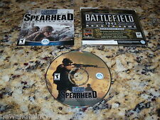 Medal Of Honor Spearhead Expansion Pack (PC, 2002) Game