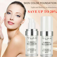 TLM Flawless Color Changing Foundation Makeup Base Face Liquid Cover Concealer ~
