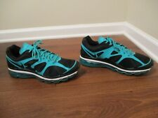 Used Worn Size 13 Nike Air Max 2012 Shoes Black, New Green, White