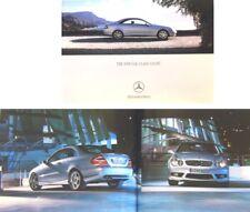 Mercedes Benz CLK Coupe 2002-04 Original UK Sales Brochure 200K 240 320 500 CDi