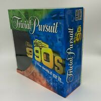 Trivial Pursuit The 90s - 1990s Themed Family Party Board Game **100% COMPLETE**
