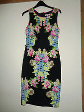 LADIES RED HERRING SPECIAL EDITION FLORAL PATTERN DRESS SIZE 10