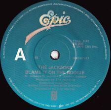 Jacksons ORIG OZ 45 Blame it on the boogie EX '78 Epic ES306 Michael Jackson