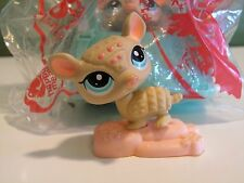 Littlest Pet Shop Armadillo with Basket McDonalds' Happy Meal Toy NIB