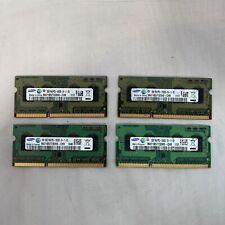 8GB RAM (4 Modules) Samsung 2GB 1Rx8 PC3-10600S DDR3 M471B5773DH0