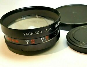 Yashica Yashikor AUX  Telephoto  1:4 lens 55mm rear threads