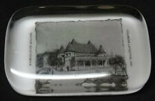 Dragonmiser 1893 Columbian Exposition Glass Paperweight Wyoming State Building