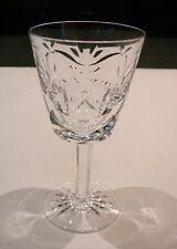 Waterford Crystal Ashling Claret Wine Stem Glasses Vintage Set of 13 Mint!