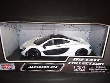 Motormax McLaren P1 White 1/24