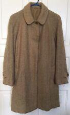 VTG Rannoch Designs By Tom Gilbey London Wool Mohair Women's Coat Size 10 UK 12