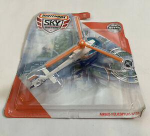 2019 New Matchbox MBX Airbus Helicopters H130 Emergency Aircraft Sky Busters