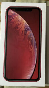 Apple iPhone XR - 256GB Red Unlocked BRAND NEW 100% BATTERY HEALTH