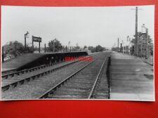 PHOTO  ASPLEY GUISE RAILWAY STATION & RIB ON THE BLETCHLEY — BEDFORD MARSTON VAL
