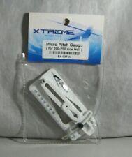 Xtreme White Mirco Pitch Gauge 200-250 Heli EA-037 RC Hobby Tool New