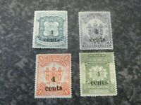 NORTH BORNEO POSTAGE & REVENUE STAMPS SG152-155 LIGHTLY MOUNTED MINT