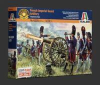 taleri 1:72 - 6135, Kaiserliche Garde Artillerie 16 Fig. 2 Kanonen, Modellbau