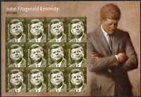 "United States 2017: ""John Fitzgerald Kennedy""  sheet of twenty forever stamps"