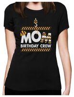 Mom Birthday Crew Construction Birthday Party Women T-Shirt Gift Idea