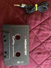 Monster iCarPlay 800 Cassette Adapter for Vehicle Music Stereo Smart Phone Mp3