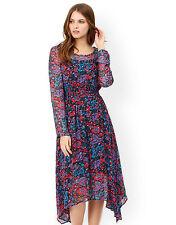 Monsoon Cornelia Foil Print Dress Size 16 BNWT two layered dress
