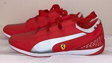 Puma Valorosso Lo SF Ferrari Leather Motor sports Shoes Red Sz 11.5 Men's