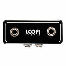 Guitar Pedal Pedalboard Patchbox - Top 2in/2out - Loopi Pedals