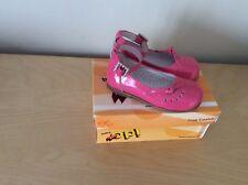 BabyOp girls fuscia pink patent shoes size EU24